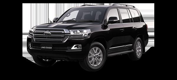 Toyota Land Cruiser Station Wagon 2021 BLACK