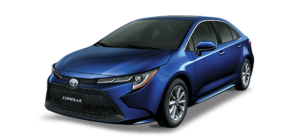 Toyota Corolla 2021 Dark Blue Mica Metallic