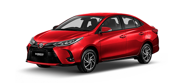 Toyota Yaris Advance 2021 Red Mica Metallic