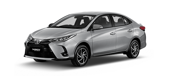 Toyota Yaris Advance 2021 SILVER METALLIC