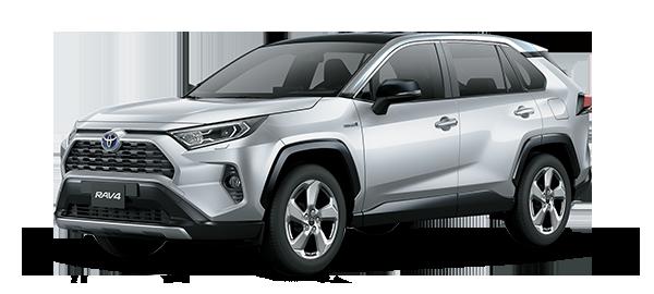 Toyota Rav4 Híbrido Auto Recargable 2021 SILVER METALLIC