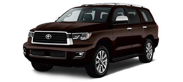 Toyota Sequoia 2021 BLACKISH RED MICA