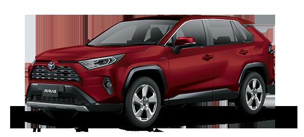 Toyota Rav4 Híbrido Auto Recargable 2021 RED MC