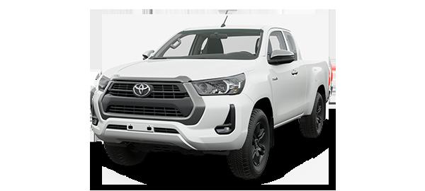 Toyota Hilux Extra Cabina 2021 WHITE PEARL CS