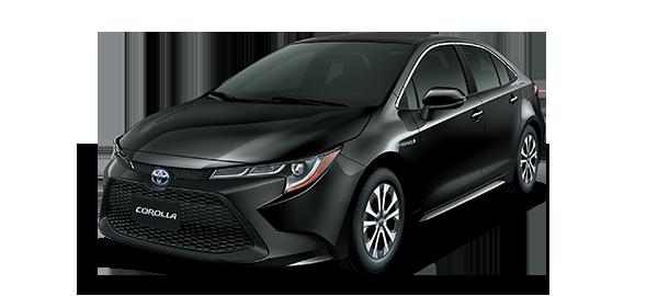 Toyota Corolla híbrido auto recargable 2021 BLACK MICA INK
