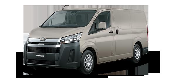 Toyota Hiace Panel 2021 BEIGE MET