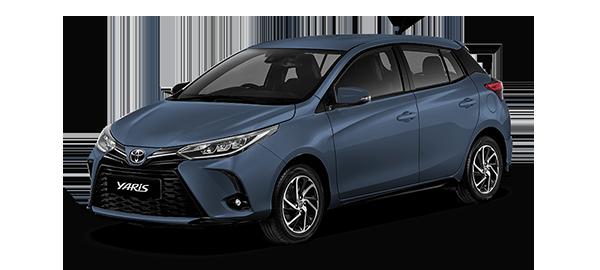 Toyota Yaris HB 2021 GRAYISH BLUE METALLIC