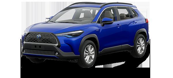 Toyota Corolla Cross Híbrido Auto Recargable 2022 NEBULA BLUE MICA