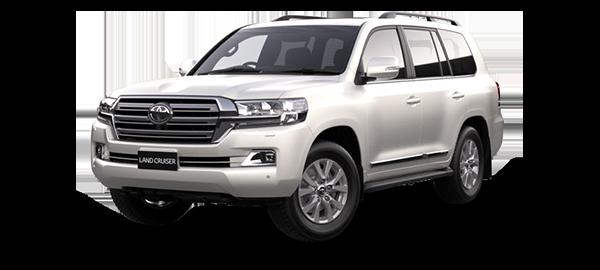 Toyota Land Cruiser Station Wagon 2021 WHITE PEARL CS