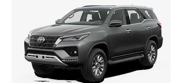Toyota Fortuner 2022 GRAY METALLIC/GRAPHITE