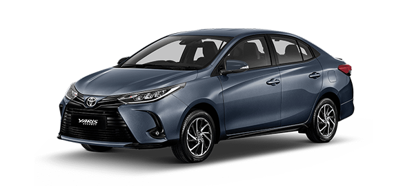 Toyota Yaris Advance 2021 GRAYISH BLUE METALLIC