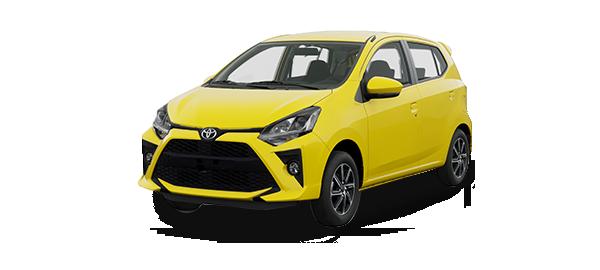 Toyota Agya 2021 Amarillo