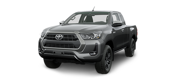 Toyota Hilux Extra Cabina 2021 GRAY METALLIC
