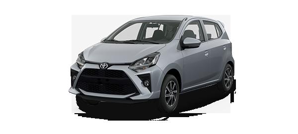 Toyota Agya 2021 SILVER METALLIC