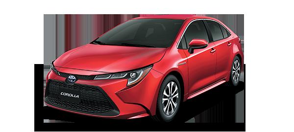 Toyota Corolla híbrido auto recargable 2021 Red Mica Metallic