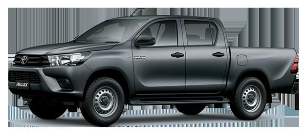 Toyota Hilux de Trabajo 2.4L 2022 GRAY METALLIC/GRAPHITE