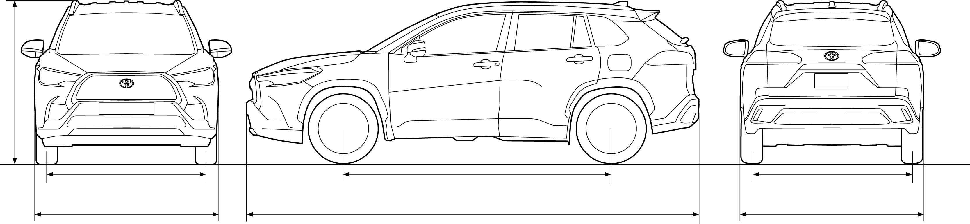 Ficha técnica | Corolla Cross Híbrido Auto Recargable