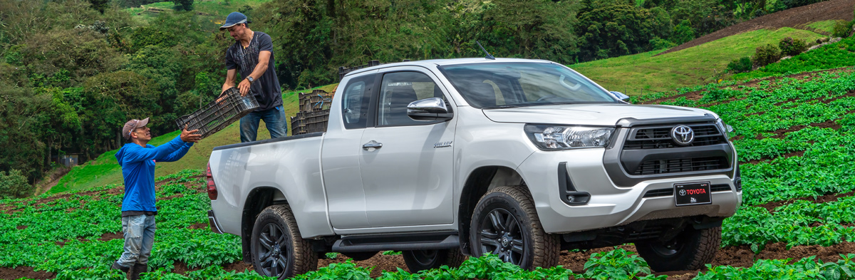 Banner Toyota Hilux Extra Cabina 2022