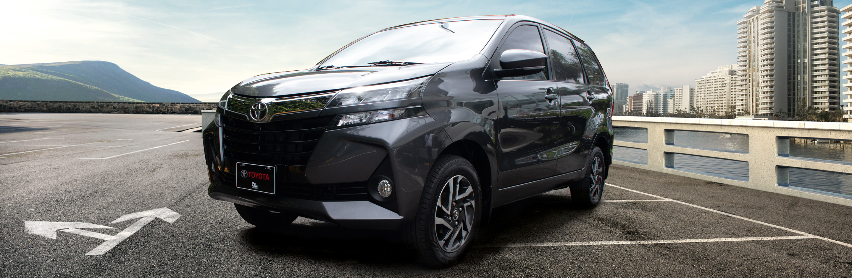 Banner Toyota Avanza Minivan 2021