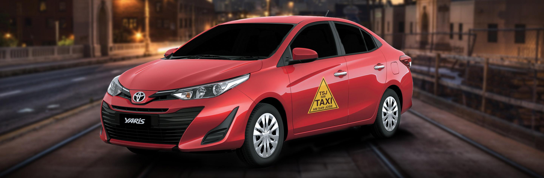 Banner Toyota Yaris Taxi 2020