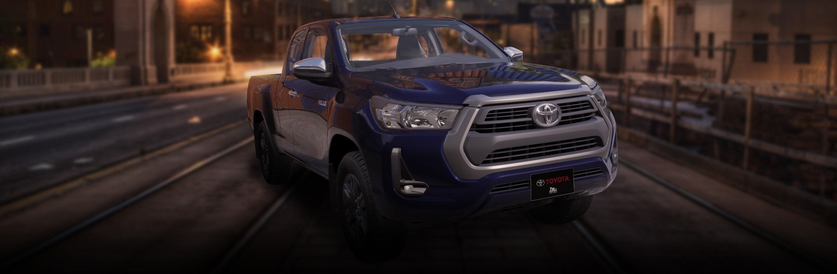Banner Toyota Hilux Extra Cabina 2021