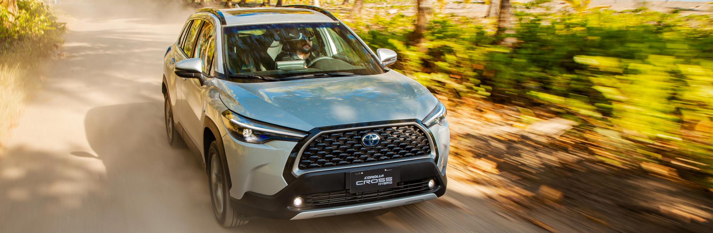 Banner Toyota Corolla Cross Híbrido Auto Recargable 2022