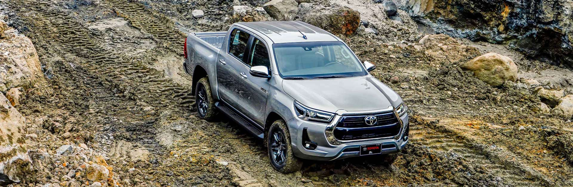Banner Toyota Hilux 2.8L 2021